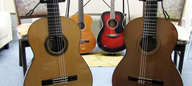 クラシックギターコース レッスン楽器紹介