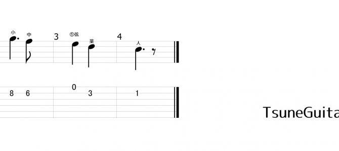 ギターワンポイント講座『もろびとこぞりてによる下降音階練習の効果』