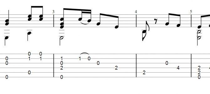 ギターワンポイント講座『ひなまつりの曲を弾いてみよう』~セーハ(バレー)が続く曲を楽に乗り切る~
